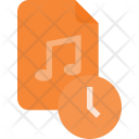 Schedule music file Icon