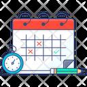 Schedule Planner Reminder Calendar Icon