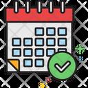 Schedule Plan Icon