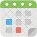 Schedule Planning Action Icon