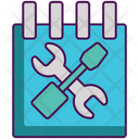 Schedule Service Schedule Services Icon