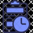 Task Deadline Schedule Icon