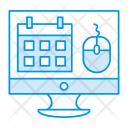 Schedule Webpage Icon