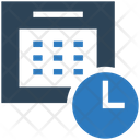 Scheduled Calender Appointment Icon