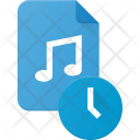 Scheduled Audio File Icon