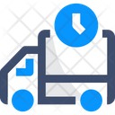 Scheduled Delivery Fast Delivery Truck Icon