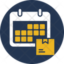 Scheduled Delivery Event Time Icon
