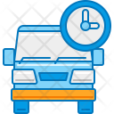 Scheduled Delivery Truck Icon