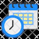 Scheduling Calendar Date Icon