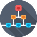Hierarchy Connections Scheme Icon