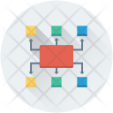 Hierarchy Management Sitemap Icon