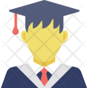 Graduate Graduation Student Icon