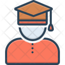 Scholar Academic Learned Person Icon