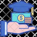 Scholarship Education Loan Study Loan Icon