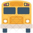 School Van Transport Icon