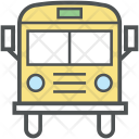 School Bus Transport Icon
