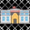 School Government Building College Icon