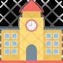 Institute Building School Building Icon