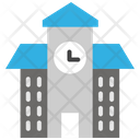 School School Building Educational Building Icon