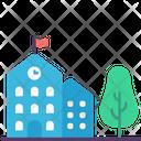 Buildings Exterior Construction Icon