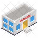 Condominium Arcade Schoolhouse Icon