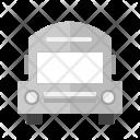 School Bus Travel Icon