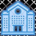 School Buiding Education Icon