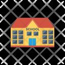 School Student Building Icon