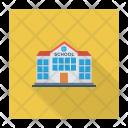Architecture Building School Icon