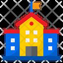 School Collage University Icon