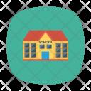 School Education Building Icon
