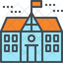 School High Building Icon