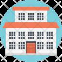 School Building Nursing Icon
