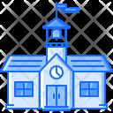 School University Clock Icon