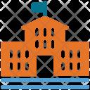 School Building Academy Icon