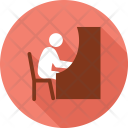 School Office Writing Icon