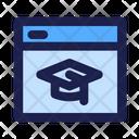 School Application E Learning Poratl Educational App Icon