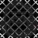 School Backpack Jingle Bell Bell Icon