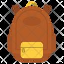 School Backpack Icon