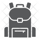 Bag Backpack Child Icon