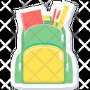 School Bag Bag Bagpack Icon