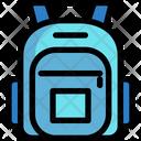 School Bag Educational Bag College Bag Icon