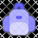 School Bag College Bag Bag Icon