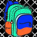 Backpack School Bag Travel Backpack Icon