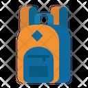 Bag School Backpack Icon
