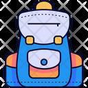 School Bag School Bags Bag Icon