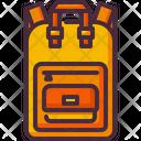 Backpack Learn School Bag Icon