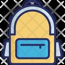 School Bag Bag Travel Icon