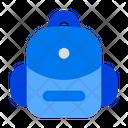 Backpack School Bag School Icon