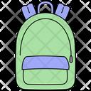 School Bag Book Icon